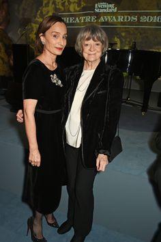 Kristin Scott Thomas and Dame Maggie Smith