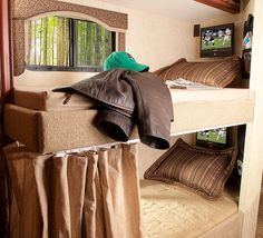New Motorhomes With Bunk Beds (Bunkhouse) 2012 2013