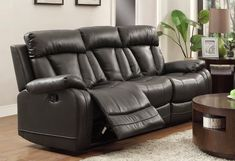 Tips That Help You Get The Best Leather Sofa Deal. Leather sofas and leather couch sets are available in a diversity of colors and styles. A leather couch is the ideal way to improve a space's design and th Leather Sofa And Loveseat, Sofa And Loveseat Set, Sectional Sofa With Recliner, Leather Reclining Sofa, Black Leather Sofas, Reclining Sectional, Black Sofa, Loveseat Sofa, Leather Sectional