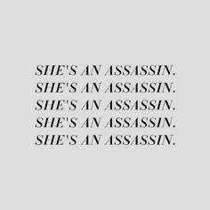 She's an assassin. She's an assassin. She's an assassin. She's an assassin. She's an assassin. John Mayer, Dr Stephen Strange, Mathilda Lando, Shao Jun, Gif Terror, Elektra Natchios, Natalia Romanova, Tyler Durden, Yennefer Of Vengerberg