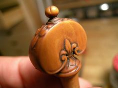 Boxwood carved violin peg | Flickr - Photo Sharing!