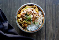 Curried Beef with Apricots & Almonds
