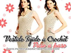 Blusa Crochet para Todos los Talles / Tutorial Freeform Crochet, Irish Crochet, Crochet Baby, Crochet Bikini, Knitting Basics, C2c, Tatting, Bikinis, Dresses