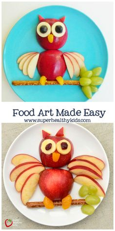 The one thing you need to make food art easy for your kids!- The one thing you need to make food art easy for your kids! Food Art Made Easy. The easy way to create fun food! Easy Food Art, Cute Food Art, Food Art For Kids, Creative Food Art, Food Kids, Easy Art, Fruit Art Kids, Food For Children, Dessert Design