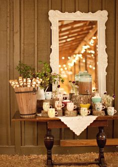 1000 images about silent wedding bells secret vows on for Coffee bar at wedding reception