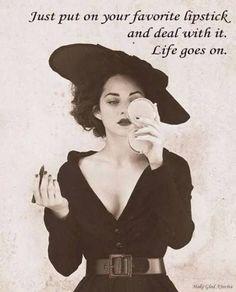 Put on your favorite lipstick | #clairetaylormua