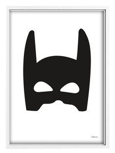 Tellkiddo Poster A3 Superhjälte