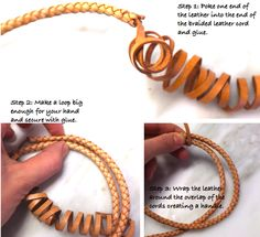 Dog leash DIY