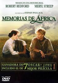 Memorias de África. Dirigida por Sidney Pollack