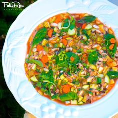 FullyRaw Minestrone Soup! Savory, sweet, and satisfying! You're new healthy, heart-warming comfort food! http://youtu.be/aNWMxbg1ZNU  www.instagram.com/fullyrawkristina
