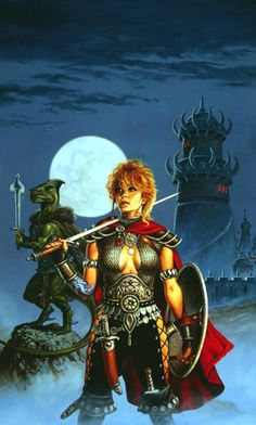 Clyde Caldwell - Curse of Azure Bonds