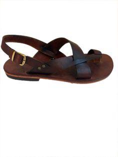 6177e7032bc17 AIAS  Toe Thong Sling Back Leather Sandal Handmade leather sandal custom  size available