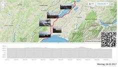 Vom Jura an den Genfersee  Vollständiger Bericht bei: http://agu.li/PZ  Gestartet im Nieselregen und durch verschneite Landschaften. Angekommen am Genfersee auf trockenen Strassen. Nur die Savoyeralpen zeigten noch, dass der Winter hier ist. Das GPS meint: 117.11 KM und 1664 Höhenmeter.