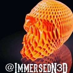 Something we liked from Instagram! Looking for a last minute Halloween print?  Try a twisted skull!  #3dprinting #3dprint #3dprinter #Fusion360 #skull #decorating  available on #thingiverse  #spyder3dworld #myminifactory by immersedn3d check us out: http://bit.ly/1KyLetq
