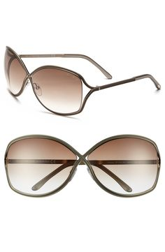 Sophisticated metal sunglasses for the chic summer gal