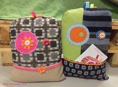 Buddi cuscini, sfoderabili con tasca frontale porta oggetti. Imbottitura in kapok #monster #ibuddidimatilde #pillow