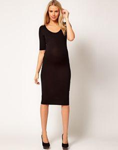 Enlarge ASOS Maternity Bodycon Midi Dress