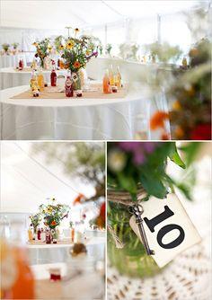 wildflower wedding arrrangements