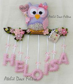 Baby Crafts Foam Crafts Crafts For Kids Felt Owls Felt Animals Baby Owls Felt Name Felt Wreath Plushies Foam Crafts, Baby Crafts, Diy And Crafts, Crafts For Kids, Arts And Crafts, Felt Wreath, Felt Owls, Creation Deco, Felt Decorations