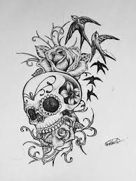 Image result for skull butterfly tattoo