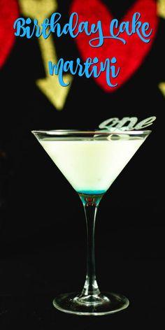 Birthday Cake Martini- San Francisco|Chef|Food Blogger|Easy Recipes