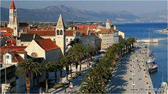 Town of Trogir, Croatia Trogir Croatia, Bosnia And Herzegovina, Montenegro, Slovenia, First Photo, Wonders Of The World, Malaga, Paris Skyline, Places To Go