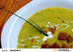 Cuketová polévka trochu jinak recept - TopRecepty.cz My Favorite Food, Favorite Recipes, Cheeseburger Chowder, Thai Red Curry, Recipies, Soup, Ethnic Recipes, Recipes, Food Recipes
