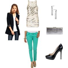 girls night out, created by kmosser on Polyvore