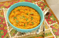 Dal Adas-Southern Iranian-Style Red Lentil Soup With Tamarind Sauce
