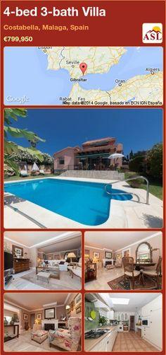4-bed 3-bath Villa in Costabella, Malaga, Spain ►€799,950 #PropertyForSaleInSpain