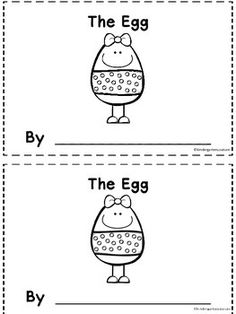 The Egg book will review positional words, while also reinforcing Reading Foundational skills.   There are seven pages that you can sequence in any order.  There are two booklets on a page so that it is easy to run through the copy machine and staple on the left side.
