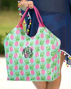 Personalized Large Beach Bag Oversized Pool Tote – Gifts Happen Here Large Utility Tote, Large Tote, Large Bags, Large Beach Bags, Beach Tote Bags, Organizing Utility Tote, Embroidered Gifts, Custom Embroidery, Machine Embroidery