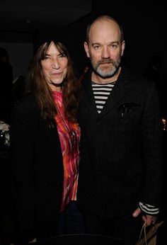 """Michael Stipe and Patti Smith @ Hope Help & Relief Haiti """"A Night Of Humanity"""" - Inside"""