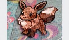 Eevee Hama beads creation - Pokemon