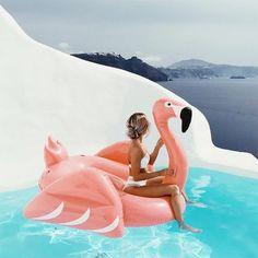 fotos criativas na piscina tumblr