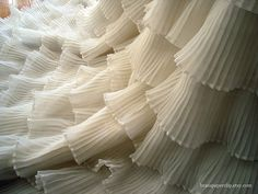 Vintage Wedding Dress - lovely detail