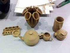 Nouveaux matériaux insolites pour imprimantes 3D
