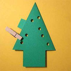 クリスマスカードを手作り!子供も簡単飛び出すツリーに雪だるまの作り方 | コタローの日常喫茶