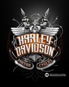 Harley-Davidson Designs on Behance