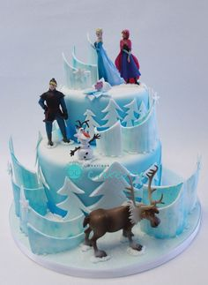 frozen cake ideas | Frozen Cake Designs