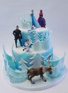 frozen cake ideas | Frozen Cake Designs