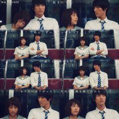 "Sota Fukushi x Kasumi Arimura, J live-action movie of manga ""Strobe Edge"". Release: March 14th 2015"