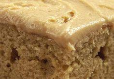 Granny's Peanut Butter Cake  Try with gluten free all purpose gflour