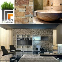 Fenn Enviro-Mental    Our top 5 green traditional construction materials    Natural Stones:    Beautiful, recyclable, durable and flexible, Used for walls, floors and furniture.
