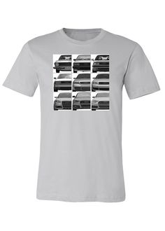 Take your passion further with gear from the Audi Collection like this Audi B model evolution t-shirt.    –<em>Bill@ChoiceGear</em>