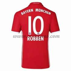 Bayern Munich Fotbalové Dresy 2016-17 Robben 10 Domáci Dres