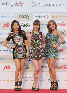Gaon Chart K-Pop Awards Red Carpet Gallery: Girls' Generation, SISTAR, miss A, and More!