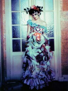 Flowers, flowers, everywhere... Paolo Roversi