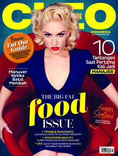 CLEO Indonesia edisi April dengan cover Gwen Stefani