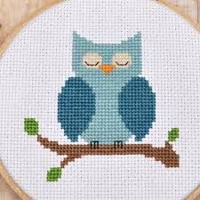 Image result for cross stitch owl pattern